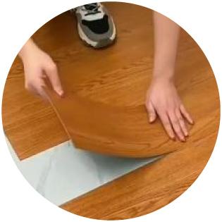 piso vinilo madera